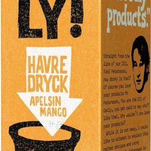 Oatly Havredryck Apelsin & Mango