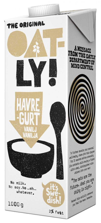 Oatly Havregurt Vanilj