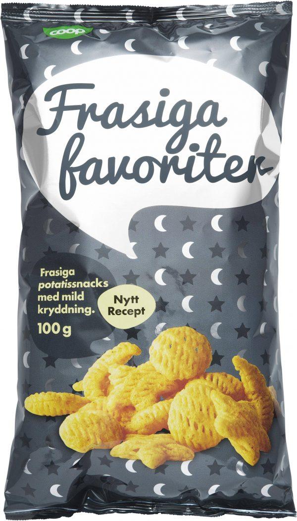 Coop Snacks Frasiga Favoriter