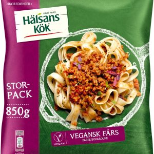 Hälsans Kök Vegansk Färs