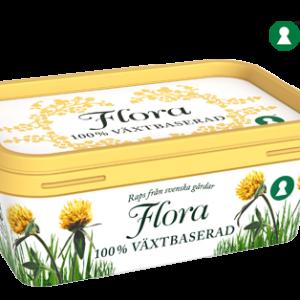 Flora 100% Växtbaserat