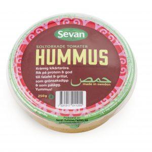 Sevan Hummus med Soltorkade Tomater