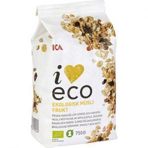 ICA I love eco Müsli Frukt