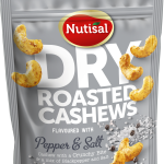 Nutisal Dry Roasted Cashews Pepper & Salt