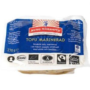 Kung Markatta Tofu marinerad