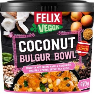 Felix Coconut bulgur bowl