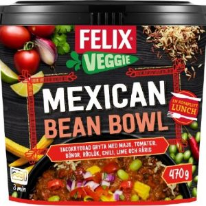 Felix Mexican bean bowl
