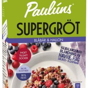 Paulúns Supergröt Blåbär Hallon
