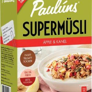 Paulúns Supermüsli Äpple Och Kanel