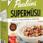 Paulúns Supermüsli Kokos, Hasselnötter & Jordgubb