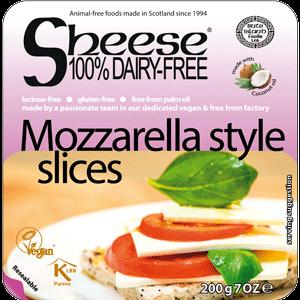 Sheese Mozzarella style slices