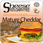 Sheese Mature Cheddar style slices