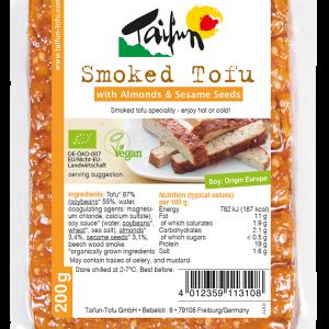 Taifun Tofu Rökt med Mandel & Sesam