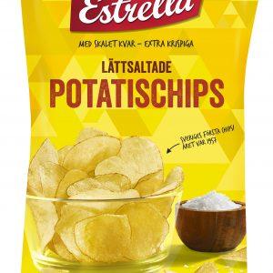 Estrella Lättsaltade potatischips