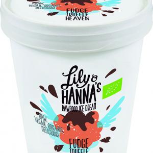 Lily & Hanna's Rawfood Ice Cream Fudge Truffle Heaven