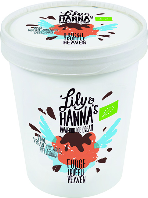Lily & Hanna's Rawfood Ice Cream Fudge Truffle Heaven