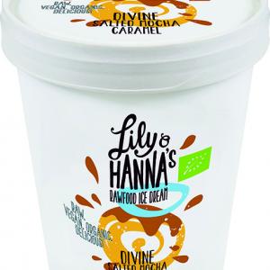 Lily & Hanna's Rawfood Ice Cream Divine Salted Mocha Caramel