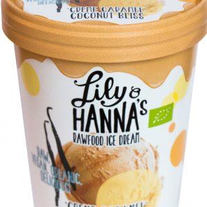 Lily & Hanna's Rawfood Ice Cream Crème Caramel Coconut Bliss