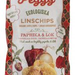 Veggie Peggy Linschips Paprika & Lök