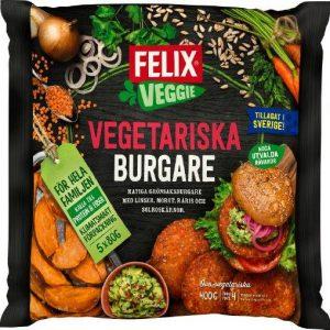 Felix Vegetariska Burgare