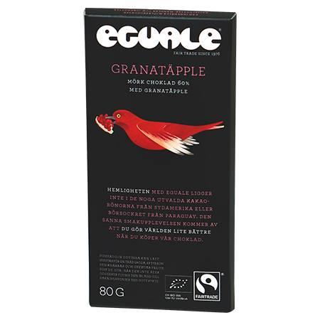 Eguale Choklad Granatäpple