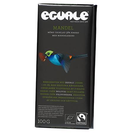 Eguale Choklad Mandel 58%