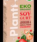 Planti Eko Soygurt Jordgubb & smultron