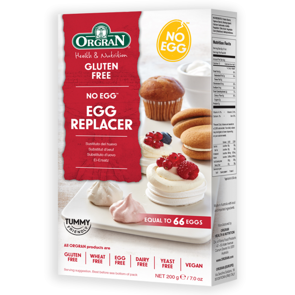 ORGRAN No Egg™ Egg Replacer