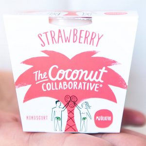 The Coconut Collaborative Kokosghurt Jordgubb