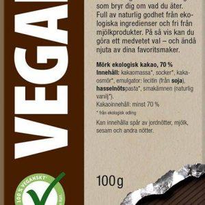 Green Star Mörk Choklad 70%