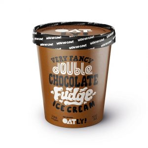 Oatly Glass Double Chocolate Fudge