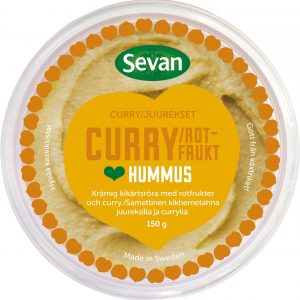 Sevan Hummus Curry/Rotfrukt