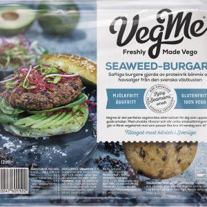VegMe Seaweed-Burgare