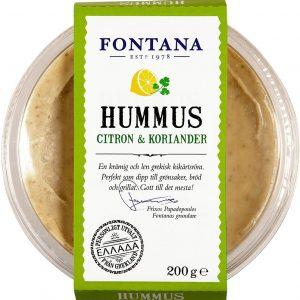 Fontana Hummus citron och koriander