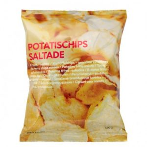 IKEA Potatischips Saltade