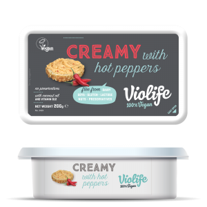 Violife Creamy med Chili