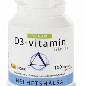 Helhetshälsa D3-vitamin Vegan