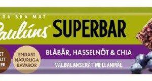 Paulúns Superbar Blåbär
