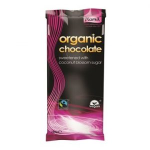 Plamil Organic Chocolate with coconot blossom sugar