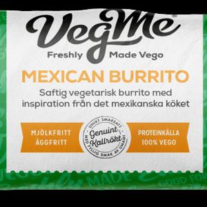 VegMe Mexican Burrito