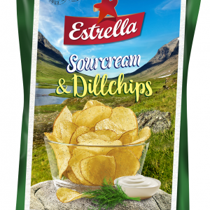 Estrella Limited Edition Sourcream & Dillchips