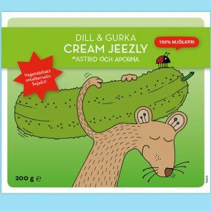 Astrid Och Aporna Cream Jeezly – Dill & gurka