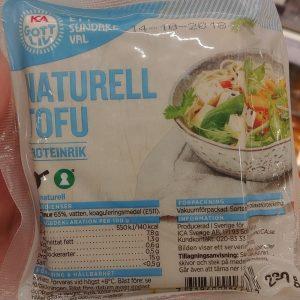 ICA Gott Liv Tofu Naturell