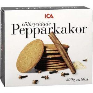 ICA Välkryddade Pepparkakor