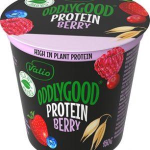 Valio Oddlygood Protein Berry bägare