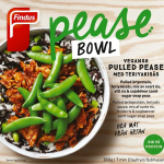 Findus Pease Bowl Vegansk Pulled Pease med teriyakisås