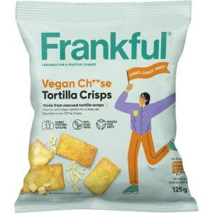 Frankful Vegan Ch**se Tortilla Crisps
